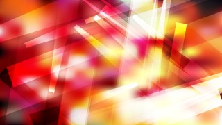 Abstract Red White and Yellow Modern Geometric Background Illustrator
