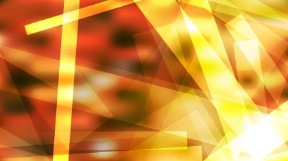 Abstract Geometric Red White and Yellow Background Image