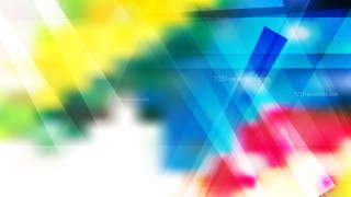 Red Yellow and Blue Modern Geometric Background