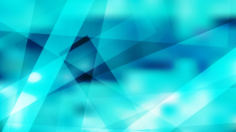Geometric Abstract Turquoise Background