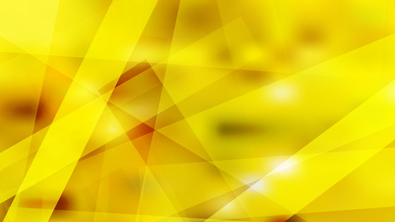 Abstract Yellow Geometric Shapes Background Illustration