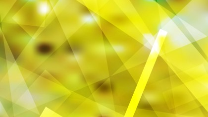 Abstract Yellow Geometric Background Illustration