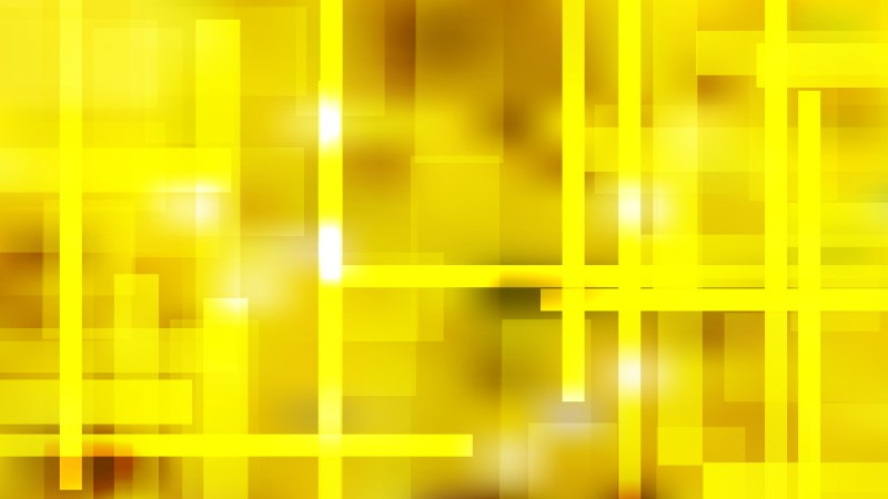 Geometric Abstract Yellow Background Vector