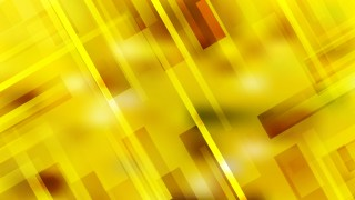 Abstract Geometric Yellow Background Illustration