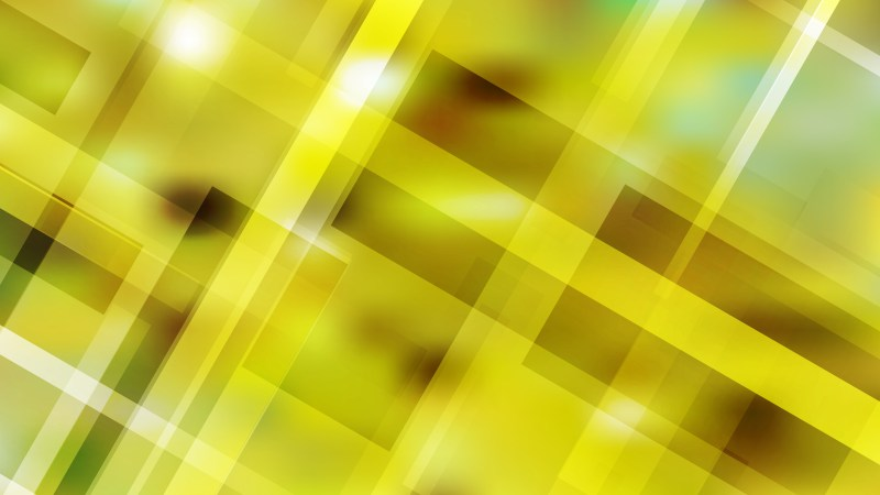 Abstract Yellow Modern Geometric Shapes Background