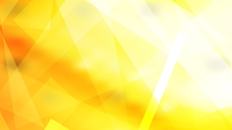 Abstract Yellow and White Geometric Background