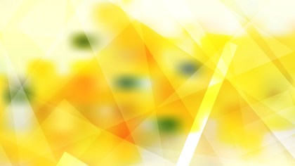 Abstract Yellow and White Geometric Shapes Background