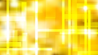 Geometric Abstract Yellow and White Background