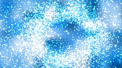 Blue and White Sparkles Background