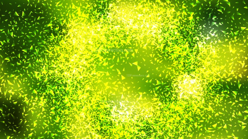 Green and Yellow Sparkling Glitter Background