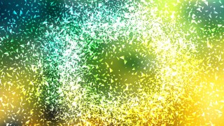 Green Yellow and White Sparkle Glitter Background
