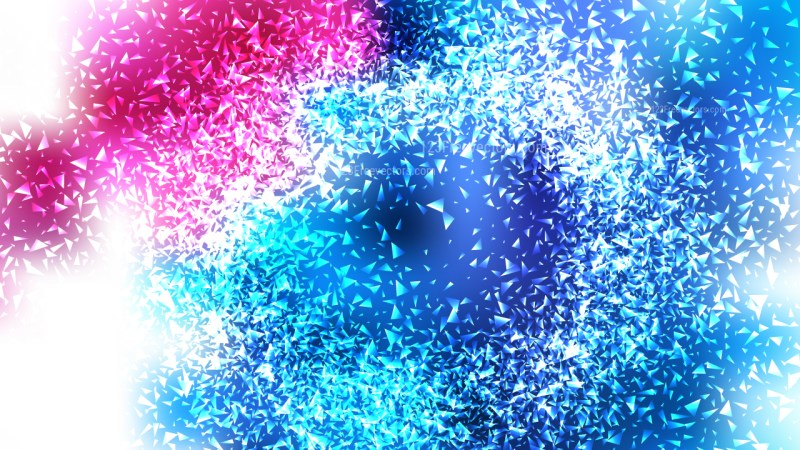 Pink Blue and White Glitter Background