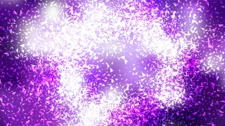 Glitter Purple and White Background