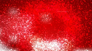 Glitter Red and White Background
