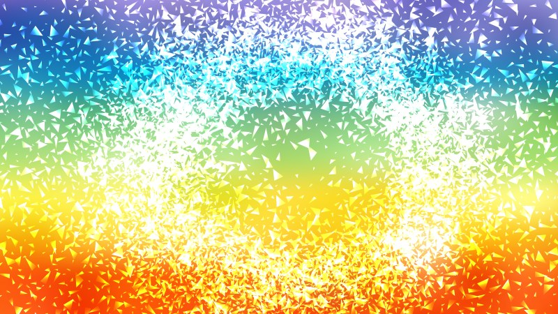Red Yellow and Blue Sparkling Glitter Background