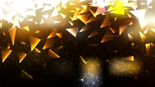 Abstract Black and Gold Geometric Triangle Background Graphic