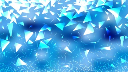 Abstract Blue and White Triangle Background