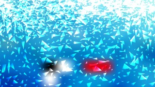 Abstract Blue and White Irregular Triangle Background
