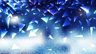 Blue and White Random Triangle Background
