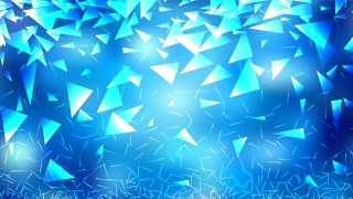 Abstract Blue and White Triangle Background Vector Art