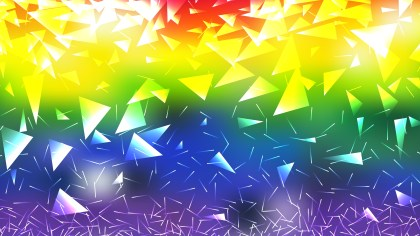 Colorful Triangular Background Graphic