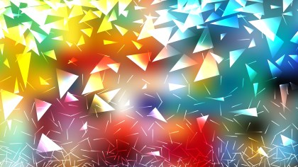 Colorful Triangle Background Vector Illustration