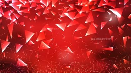 Dark Red Random Triangle Background