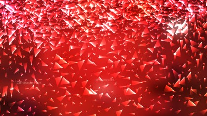 Abstract Dark Red Random Triangle Background