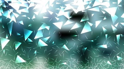 Green and White Triangle Background