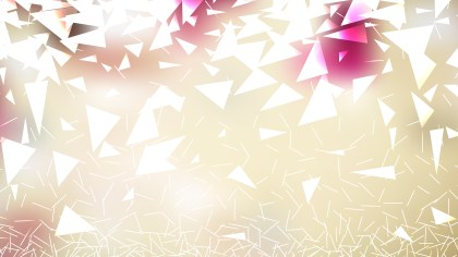 Light Color Triangle Background