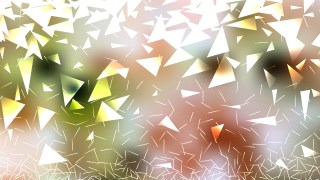 Abstract Light Color Triangular Background