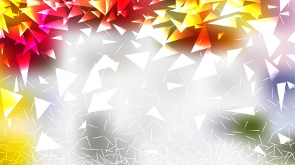 Light Color Geometric Triangle Background