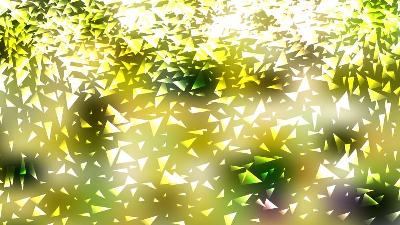 Abstract Light Green Triangle Background