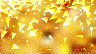Abstract Orange Triangle Background