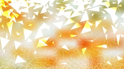 Abstract Orange and White Triangle Background Vector Art