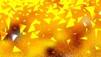 Orange and Yellow Triangle Background Vector Art