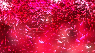 Pink and Red Polygon Triangle Background