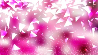Pink and White Triangle Background Vector Art