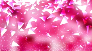 Pink and White Geometric Triangle Background Graphic