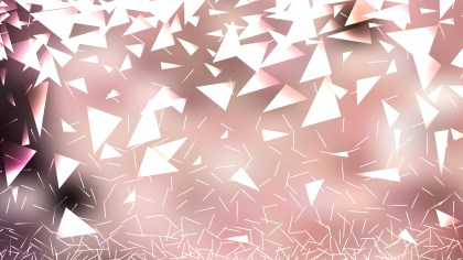 Pink and White Irregular Triangle Background