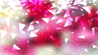 Abstract Pink and White Triangle Background Vector Image
