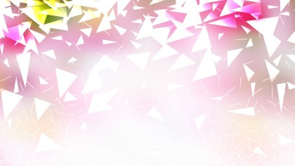 Abstract Pink and White Geometric Triangle Background Design