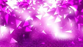 Purple and White Random Triangle Background