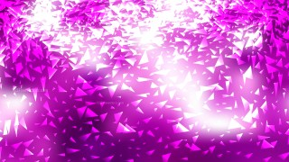 Purple and White Random Triangle Background