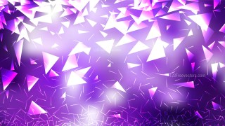 Abstract Purple and White Scattered Triangle Background