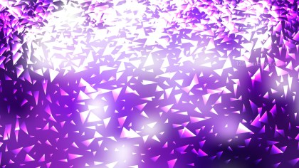 Purple and White Triangle Background