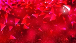 Red Triangular Background