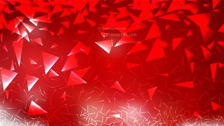 Red Geometric Triangle Background