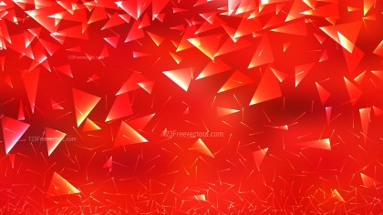 Abstract Red Triangular Background