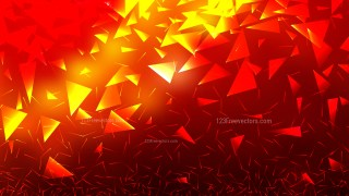 Red and Yellow Triangular Background Vector Graphic